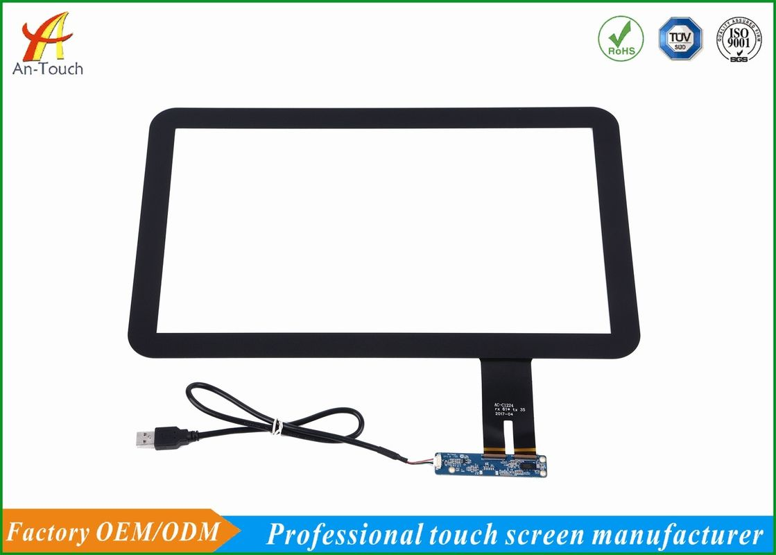 Anti Glare POS Touch Panel 15.6 Inch With Tempered Scratch Proof Cover Glass