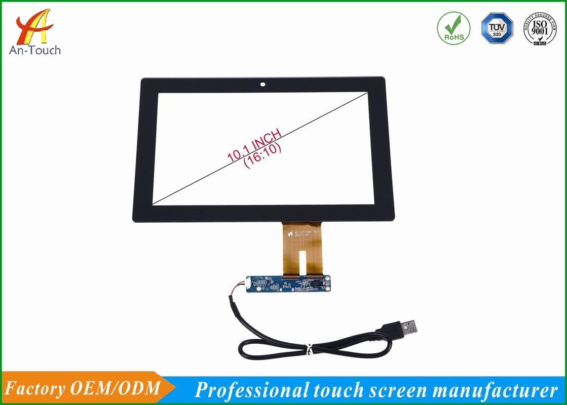 Multi Point All In One Touchscreen Overlay Kit 10.1 Inch For Terminal Machine