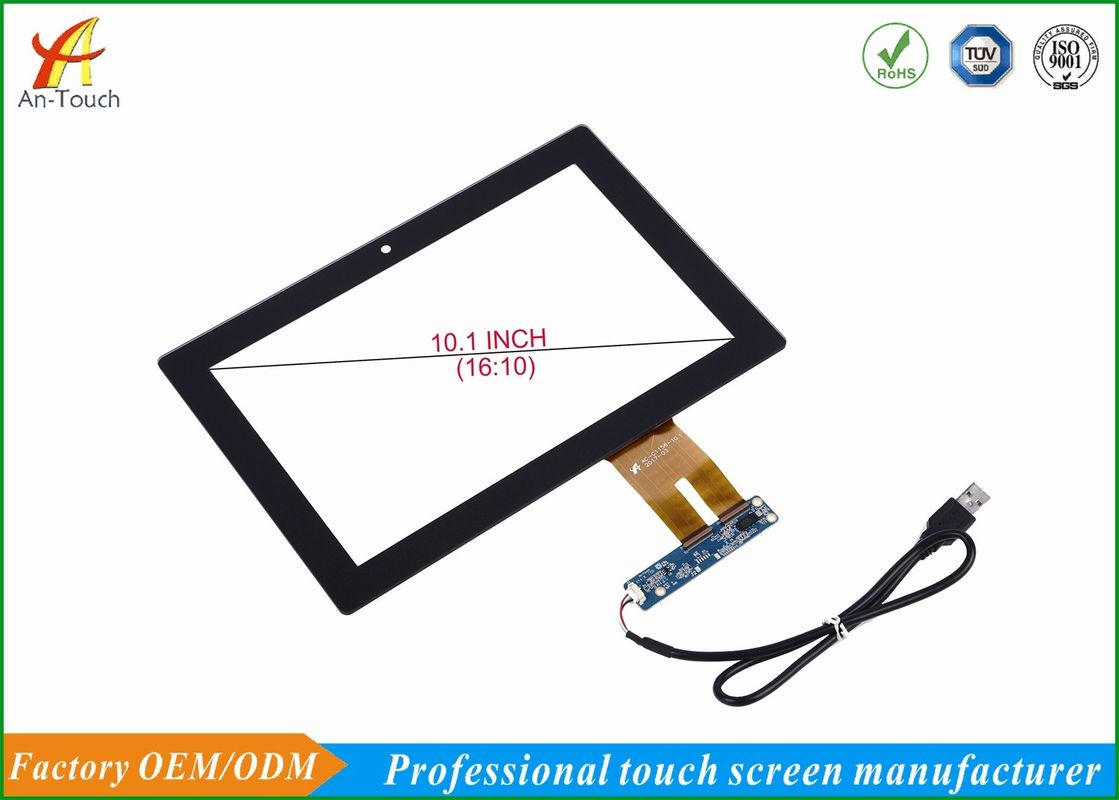 10.1 Inch Game Touch Screen Overlay Kit High Resolution , Anti Chemical