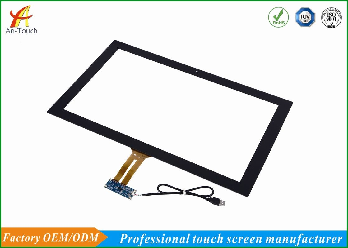 Fast Response Capacitive Touch Screen Oem 23.6 Inch , 524.72*296.4mm Active Area