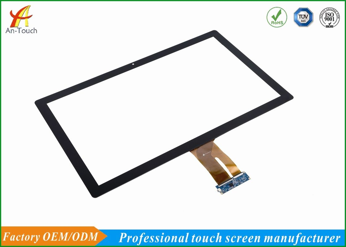 27 Inch Kiosk Touch Panel With Usb , Capacitive Touch Panel Display For Kiosk Machine
