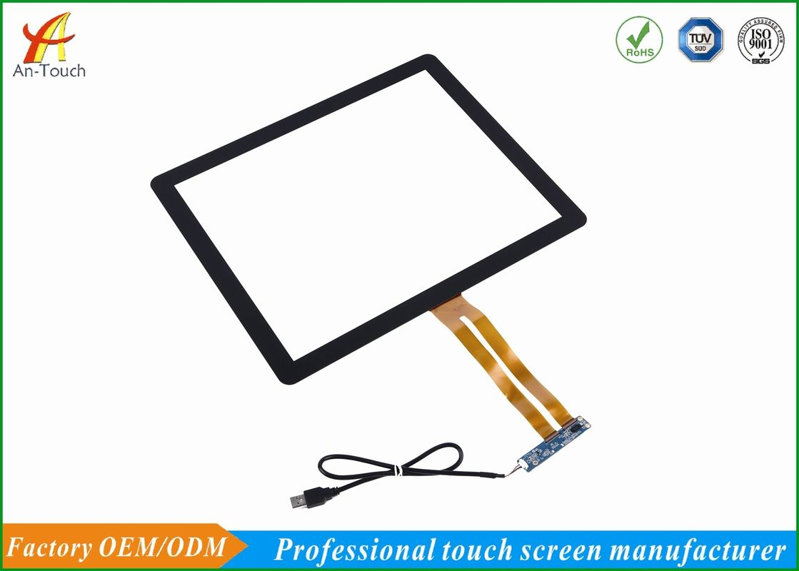 Smooth Touch 17 Inch Touch Screen Panel , Replacement Touch Screen For Tablet