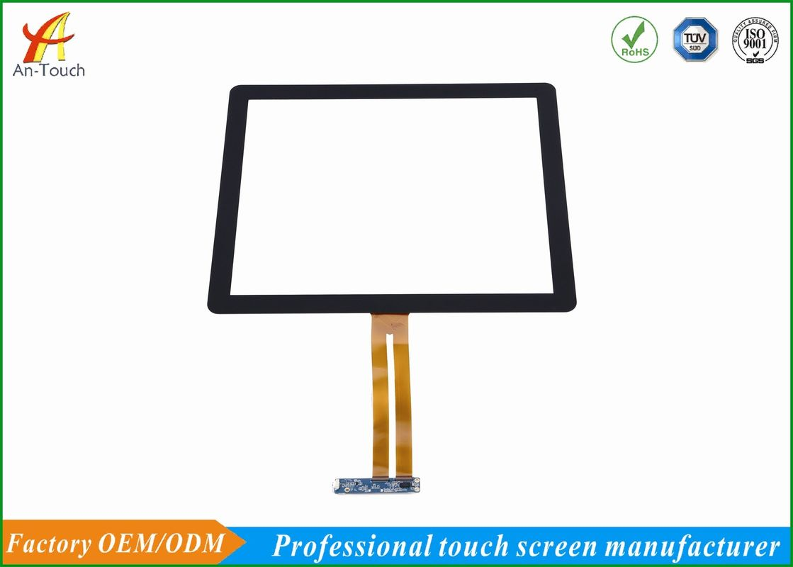 Capacitive Waterproof Touch Panel 17 Inch 338.92*271.34mm Module View Area
