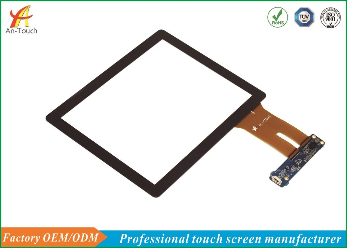 Professional 8 Inch Smart Home Touch Panel , Open Frame Touch Screen Panel