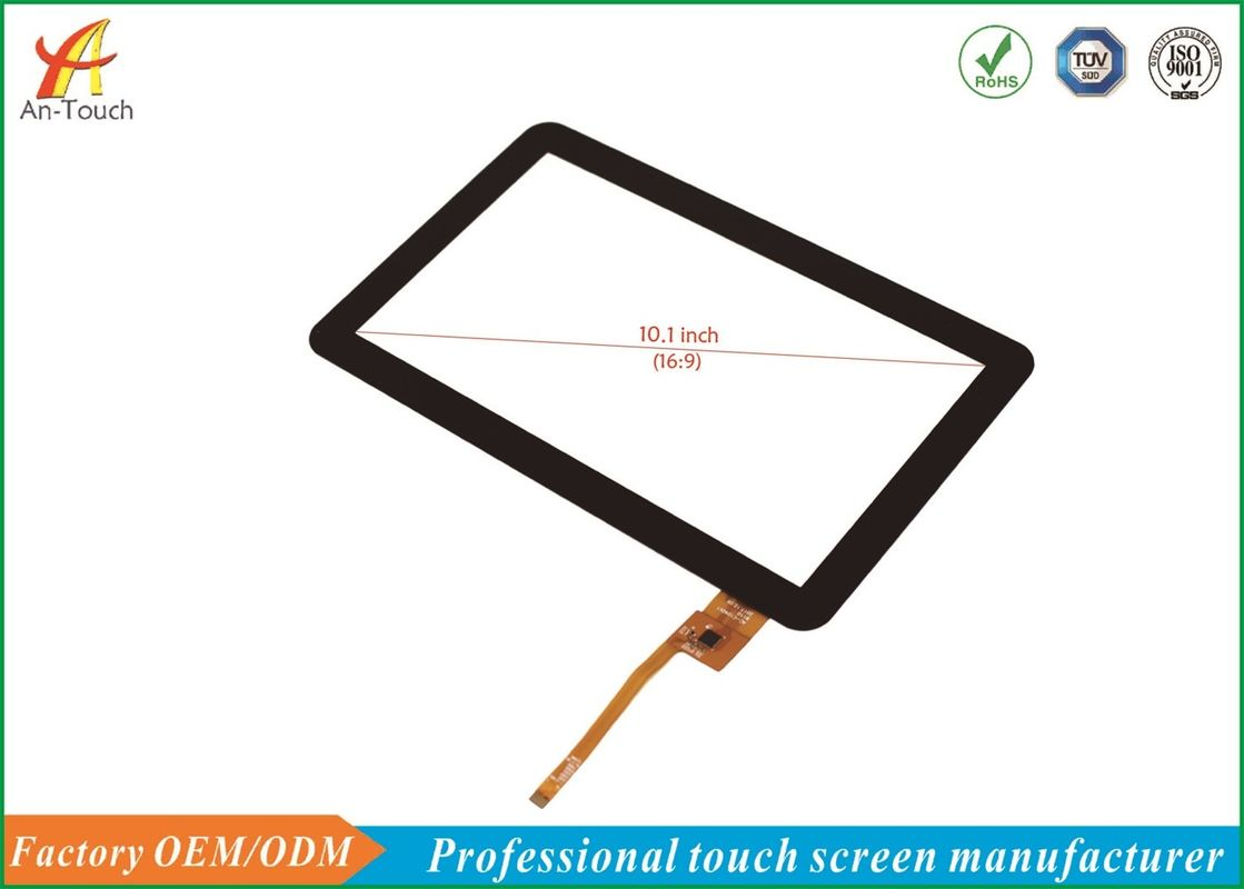 Customized 10.1 Capacitive Touch Panel , Tablet Touch Panel GT911 IIC Interface