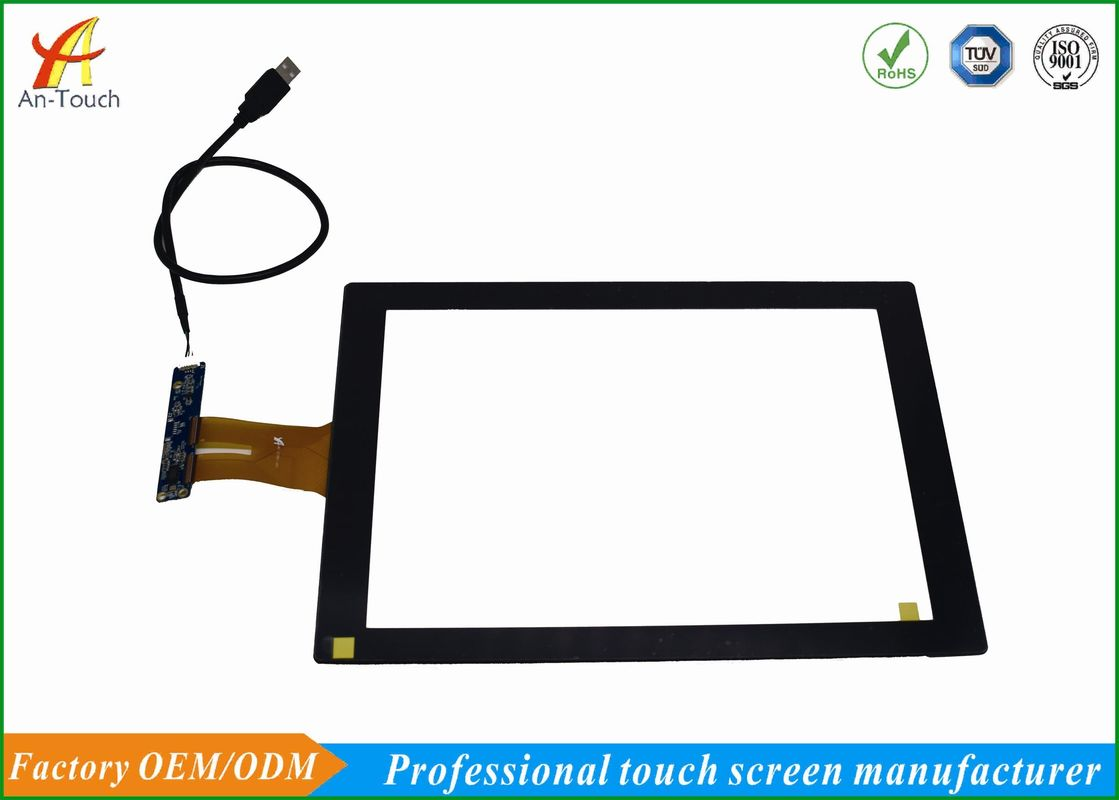 Widescreen 12.1 Touch Panel Wear Resistance For Ktv Touchscreen Monitor