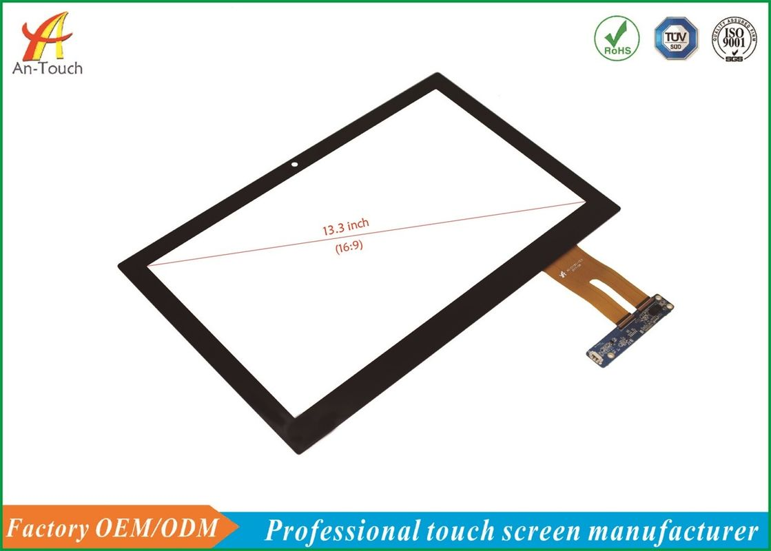 13.3 Inch Interactive Touch Panel , Android Touch Screen Panel Interface Mode Diversity